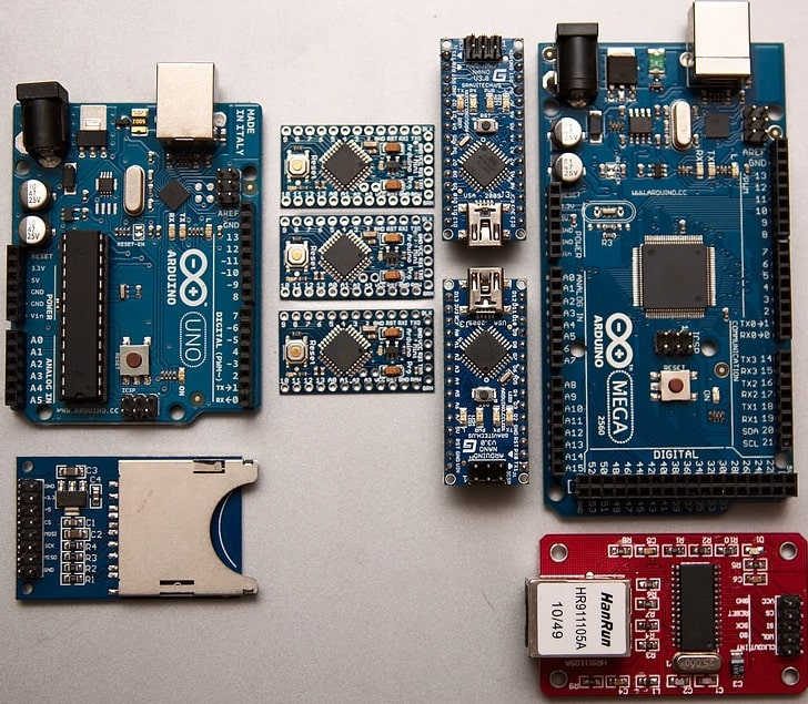 multiple Arduino boards to choose from
