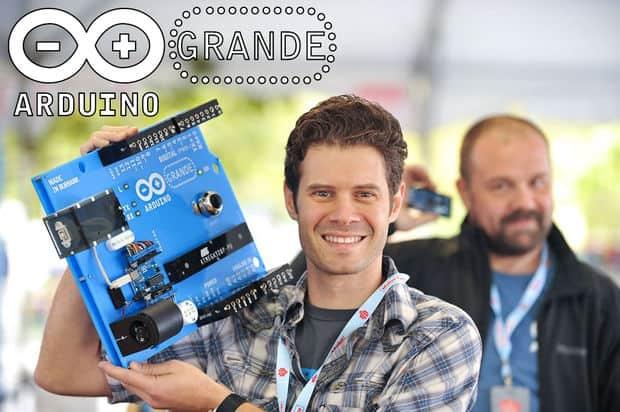 life-size Arduino board