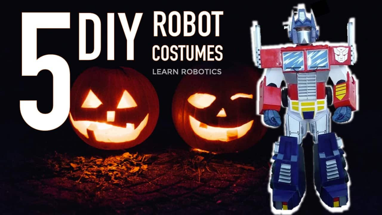 5 DIY Robot Costumes for 2019