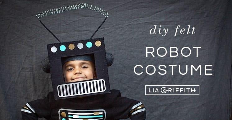 DIY robotics costume