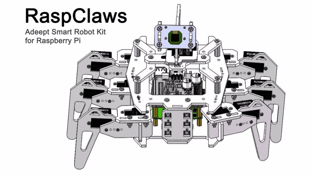 RaspClaws Raspberry Pi Robot Kit