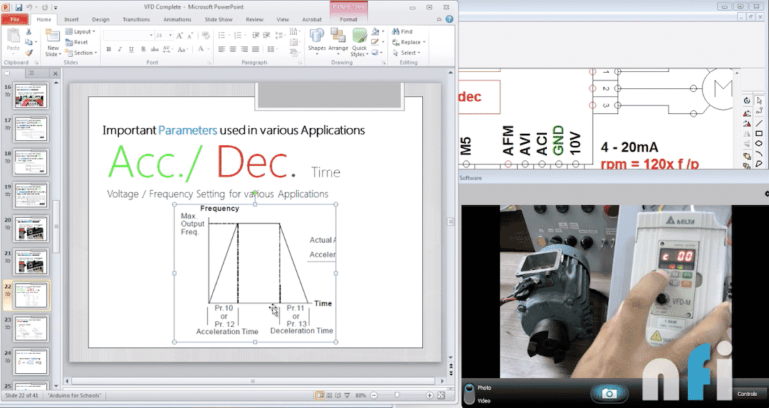 learn to program VFD for PLCs