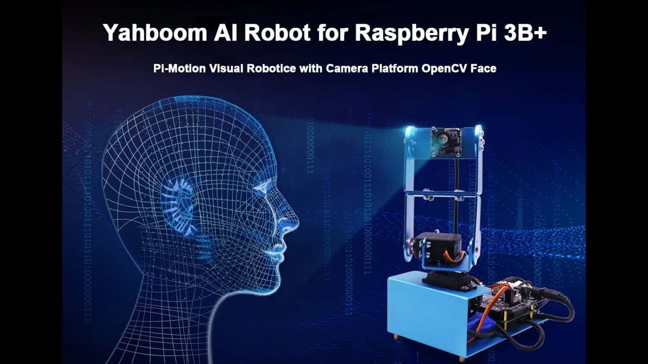 Yahboom AI Robot for Raspberry Pi 3 B+
