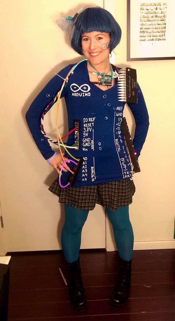 arduino costume for Halloween