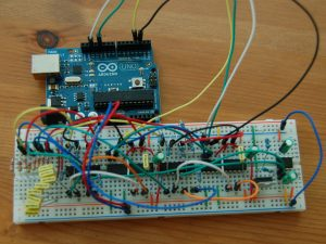 arduino project idea using leds