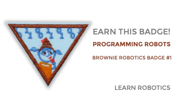 programming robots badge brownie girl scouts