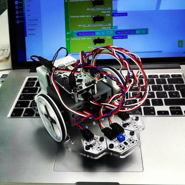 continuous rotation servos for robotics