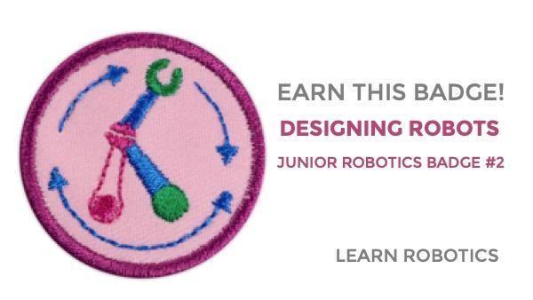 designing robots junior girl scouts badge