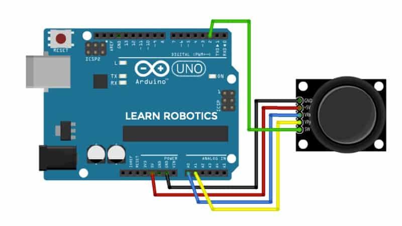 joystick arduino wiring