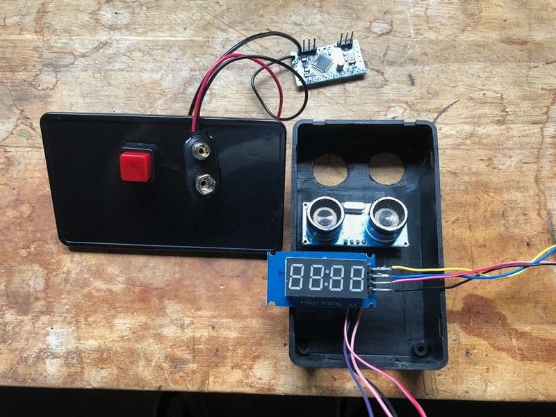 ultrasonic sensor application tank level
