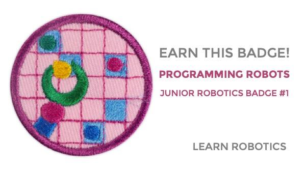 programming robots junior girl scouts badge