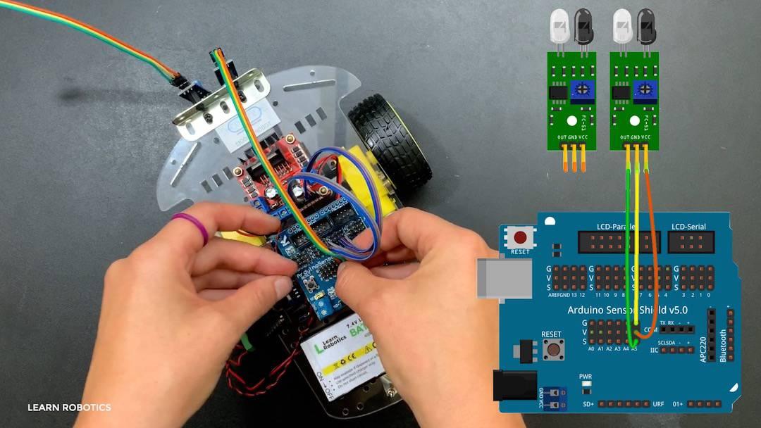 Covid-19 robotics classes online for high school