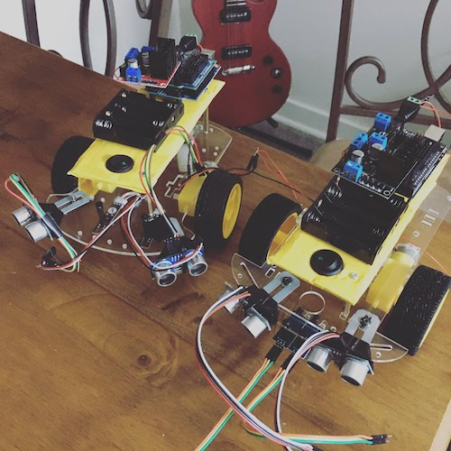 Arduino Robots for Learn Robotics