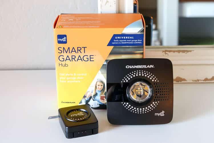 MyQ Smart Garage Door Opener Smart Home Idea