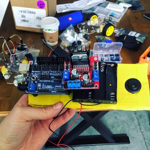 Arduino Robotics Controller