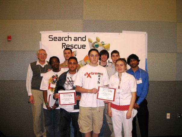 robotics club 2009 Liz from Learn Robotics
