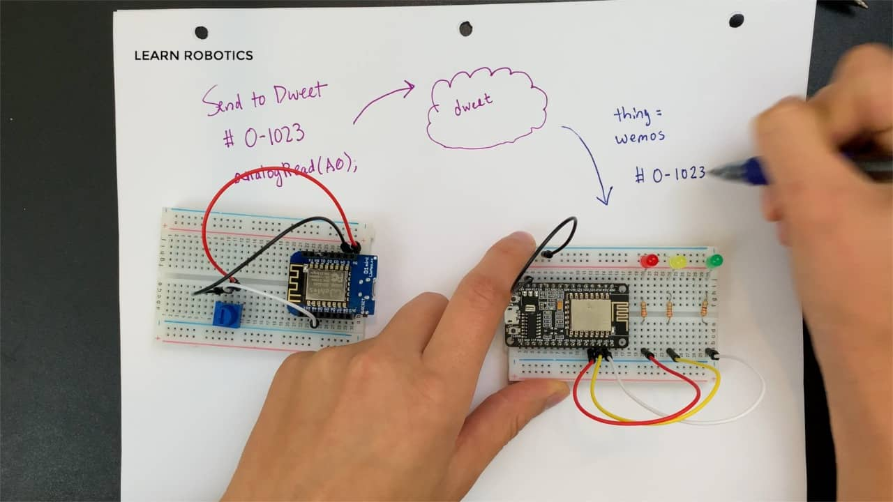 ArduinoJson and Dweet.io for Internet of Things