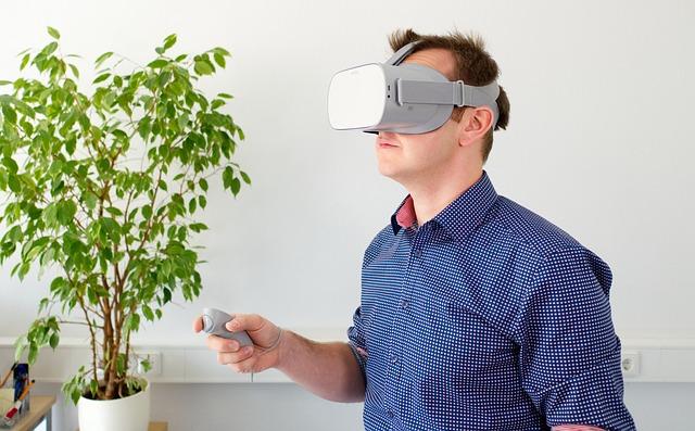 VR Glasses Oculus Go