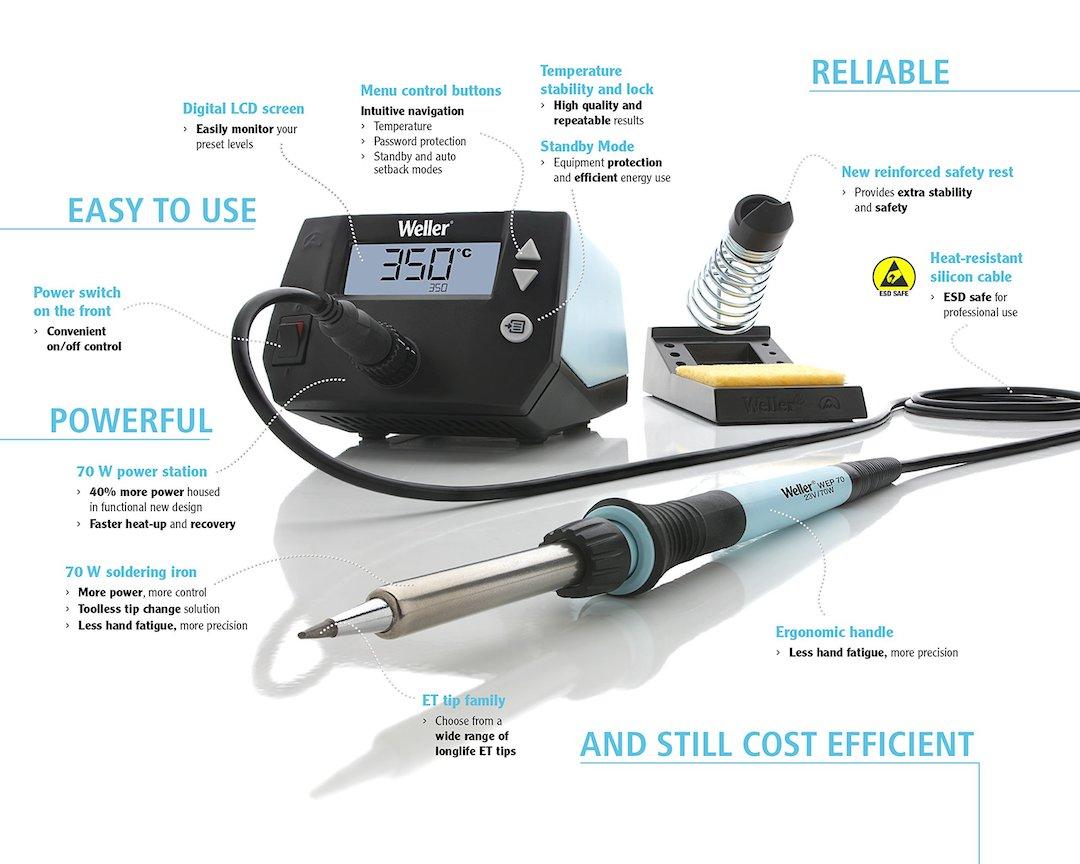 Weller WE1010NA soldering iron