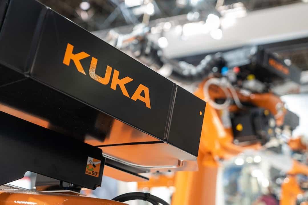 robotics engineering with KUKA industrial robots
