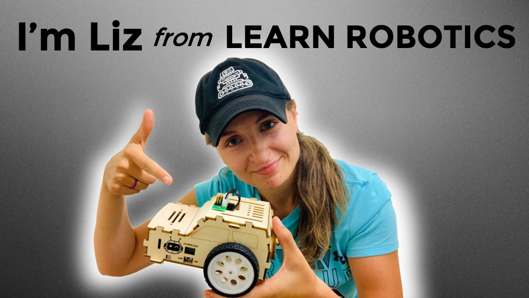 about Liz from Learn Robotics