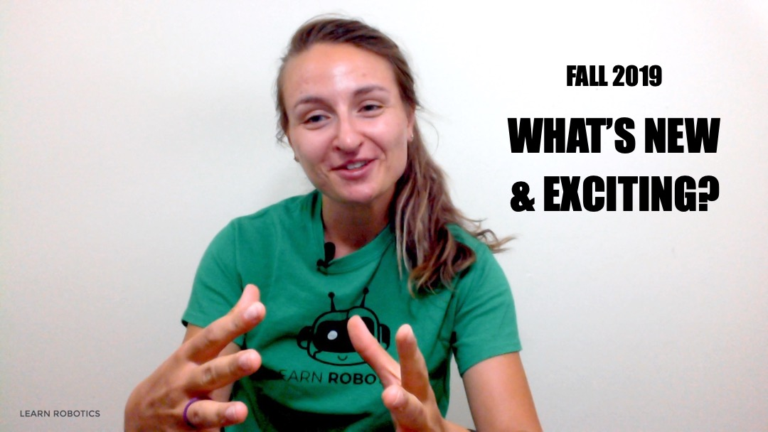 What's New and Exciting? Fall 2019
