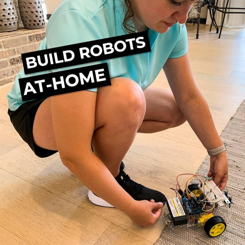 Learn Robotics At Home Online Curriculum Homeschooling