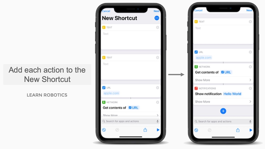 Create a Shortcut to Control Roomba with Siri