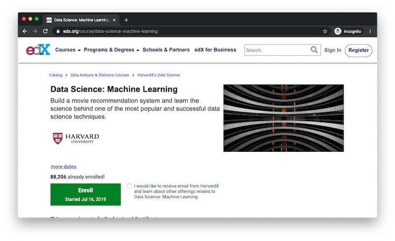 HarvardX Machine Learning Course Data Science