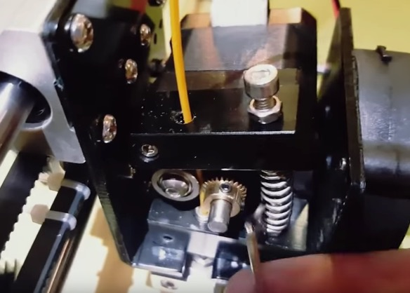 Extruder doesn't feed filament Anet A8 problem