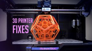 How to fix 3D printer problems such as leaky nozzle and part detaching