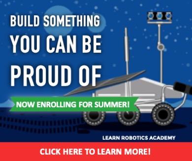 Learn Robotics Academy Banner Ad