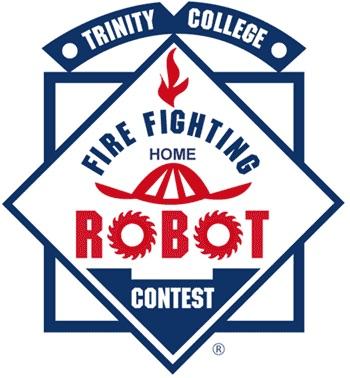 Trinity Fire Fighting Robot contest logo