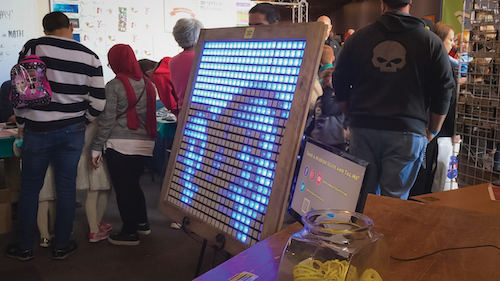 NeoPixel Mirror Real Time Images on RGB LED array