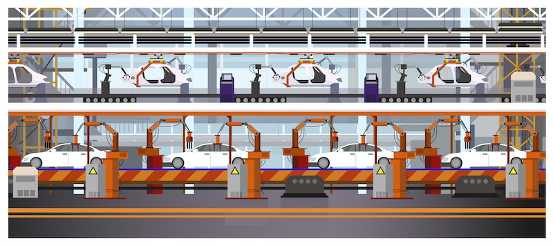 manufacturing automotive line Advanced Manufacturing Degrees Online