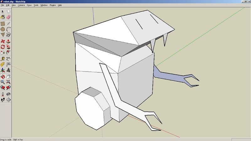 3D CAD Fundamental course on Coursera how to model using SketchUp to learn CAD online