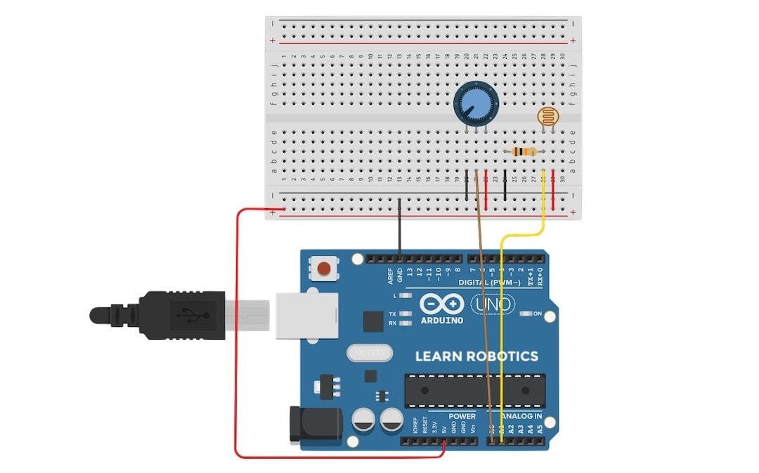 wire multiple analog sensors to Arduino Uno