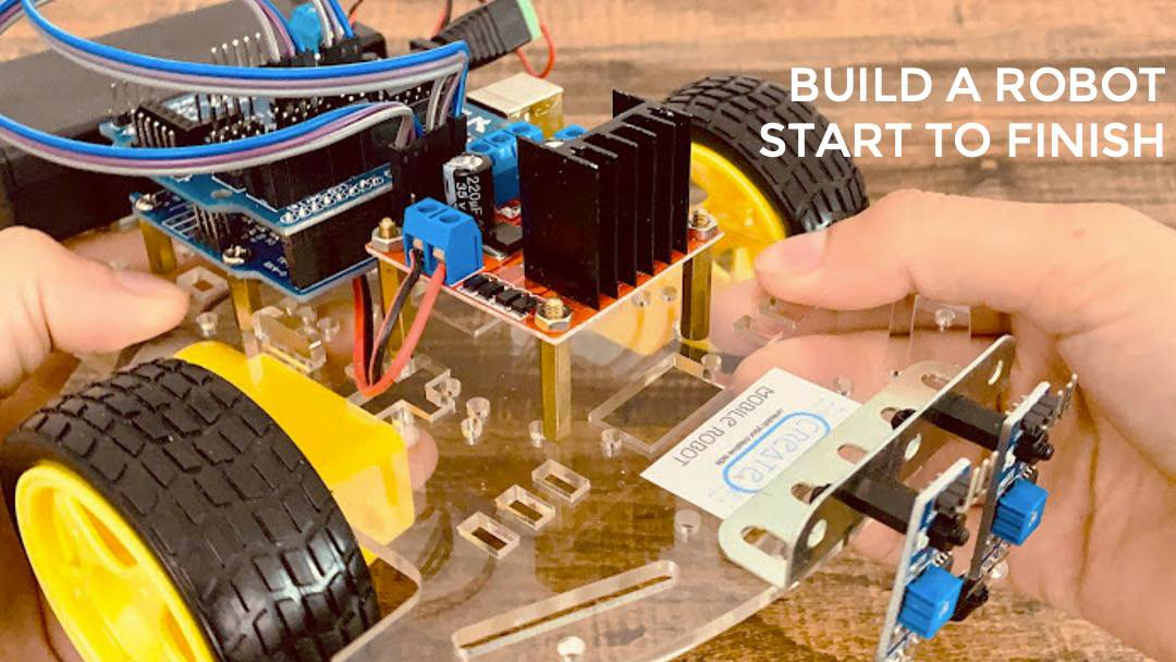 how to learn robotics online remotely