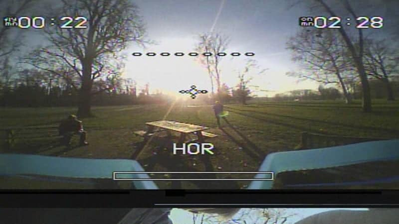 what is FPV look like on a drone