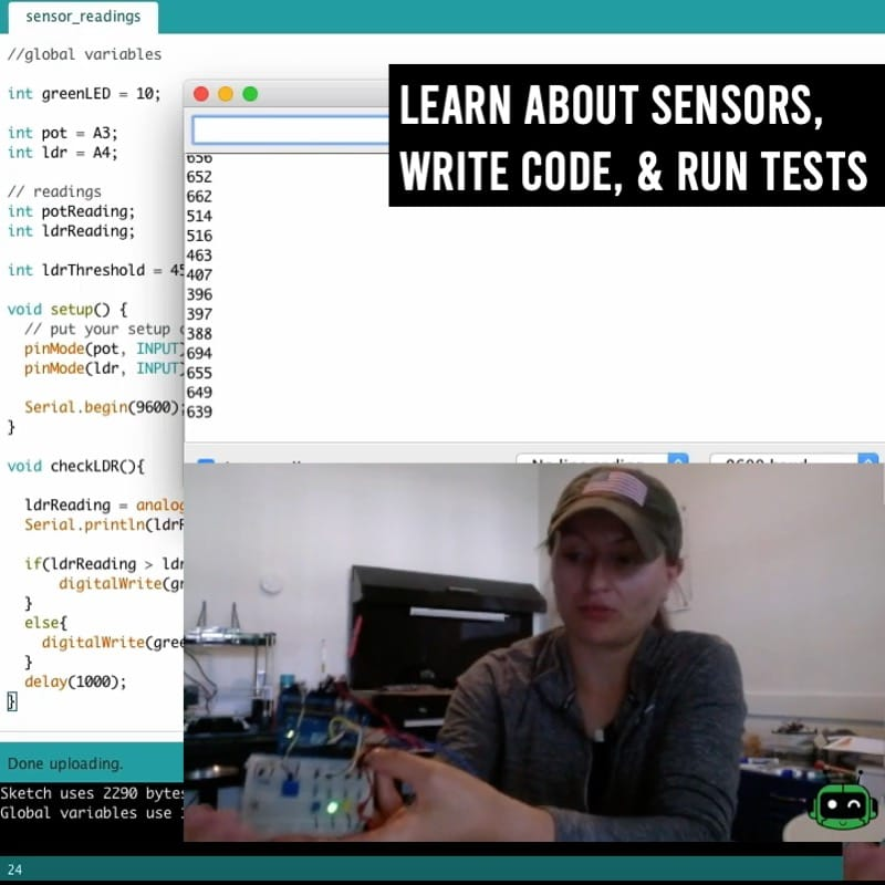 configure sensors, I/O, and collect data for decision-making