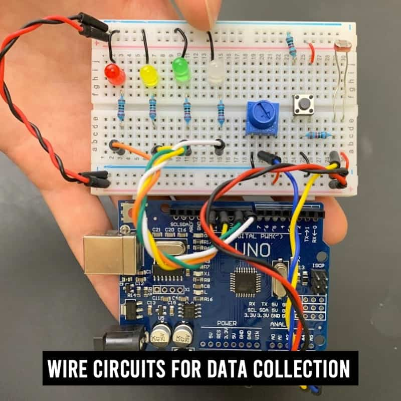 wire circuit components from scratch