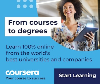 Coursera Banner Ad