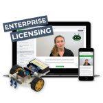 Learn Robotics Enterprise Licenses teach robotics anywhere