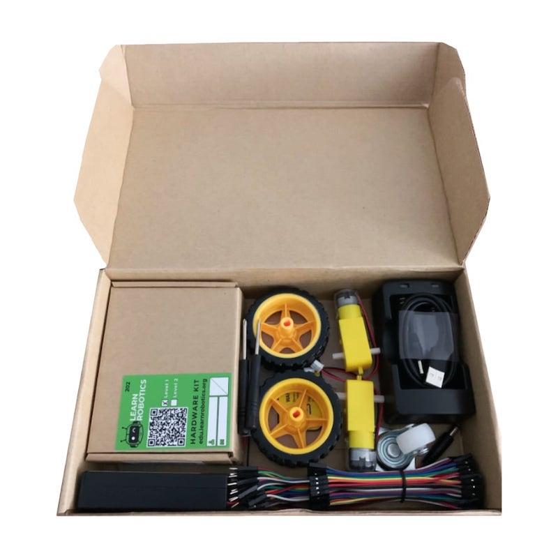 Learn Robotics Level 2 Kit includes Level 1 Kit and Robotics Hardware