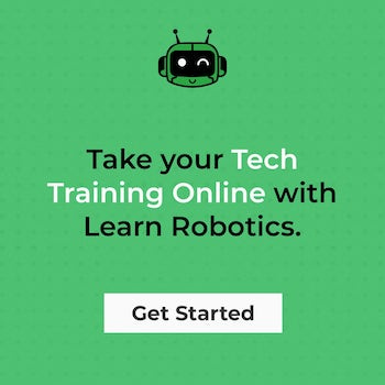tech training online with Learn Robotics