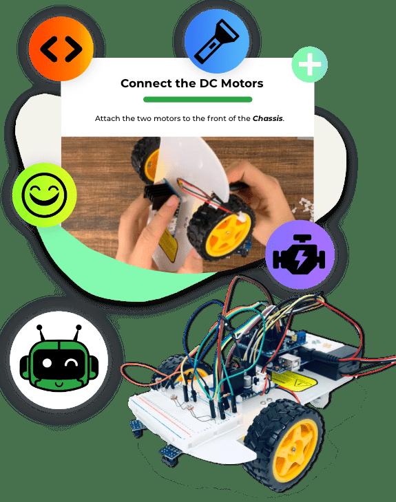 Materials for a robotics class