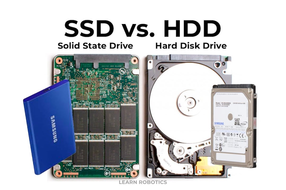 difference between ssd vs hdd for computer speed