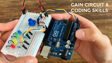 Online circuits and coding course for beginners