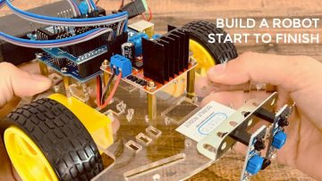 build a mobile robot from start to finish online course
